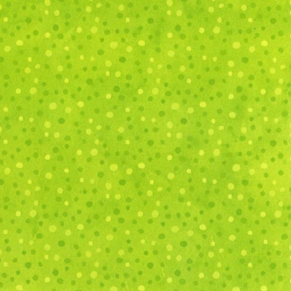Lime Petite Dot Flannel