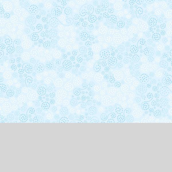 Light Blue Sparkles Flannel