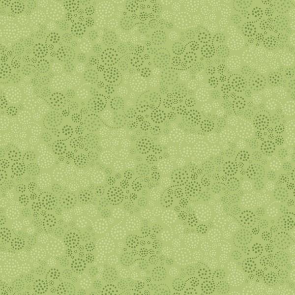 Leaf Green Sparkles Flannel
