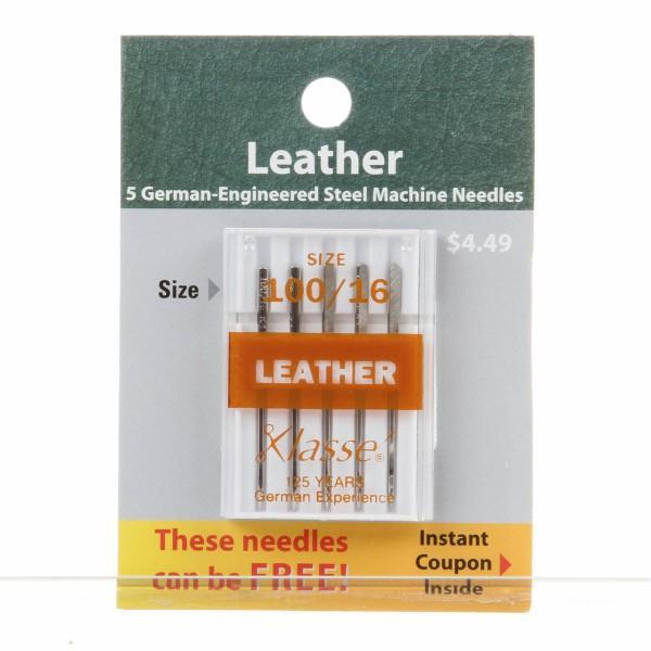 Klasse Needles Leather 100/16