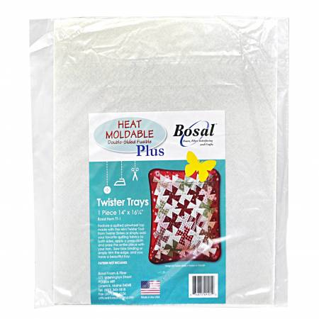 Bosal Heat Moldable Double Sided Precut Twister Tray