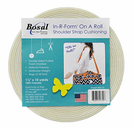 Bosal In-R-Form Shoulder Strap Cushioning 1.5in