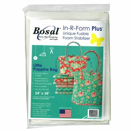 In R Form Double Sided Fusible Little Poppins Bag