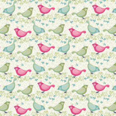 BOHO BLOOMS BIRDS MULTI