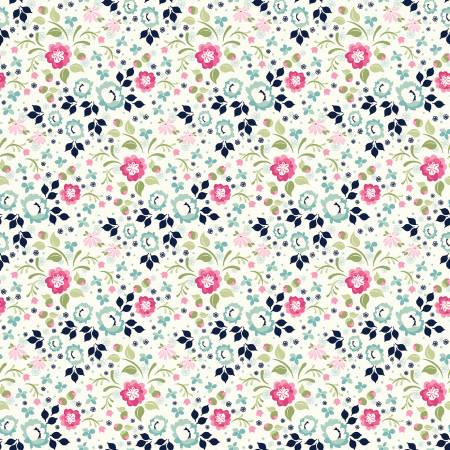 BOHO BLOOMS DITSY FLORAL WHITE/MULTI
