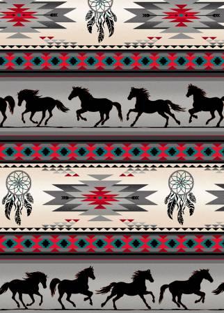Grey Tucson Horses