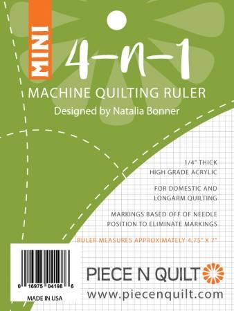 4-N-1 Mini Machine Quilting Ruler