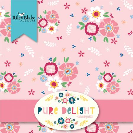 Pure Delight 5in Squares, 42pcs