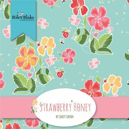 Strawberry Honey 5in Squares