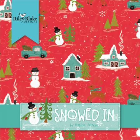 Snowed In 5in Squares, 42pcs/bundle - Coming Soon!