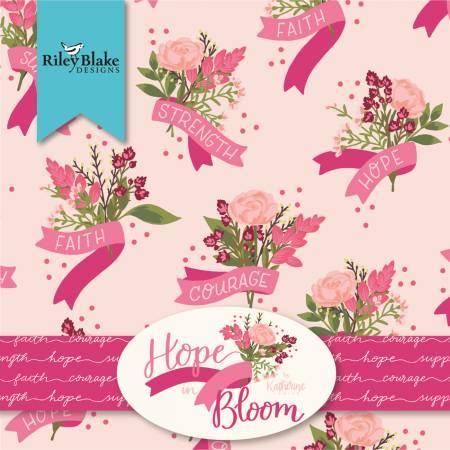 Hope In Bloom - 5in Squares, 42pcs/ea