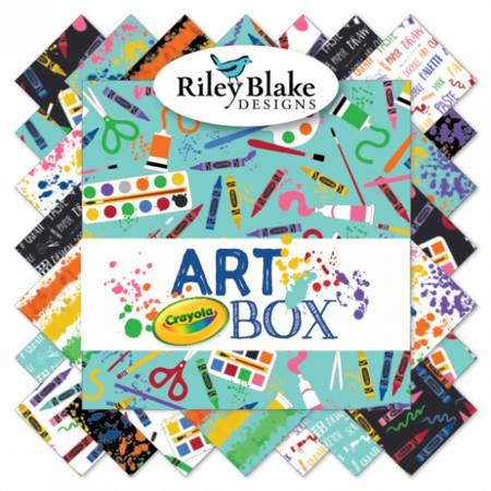 Art Box 5in Squares 42pcs/bundle, 3 bundles per pack