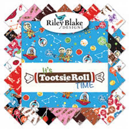 Tootsie 5in Squares 42pcs/bundle, 3 bundles per pack