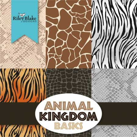 Animal Kingdom 5in Squares, 42pcs/bundle