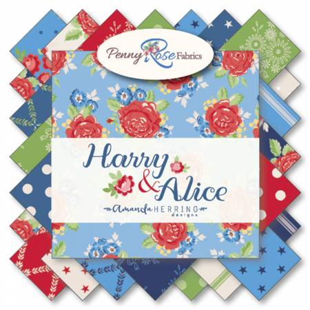 Penny Rose - Harry & Alice 5in Squares