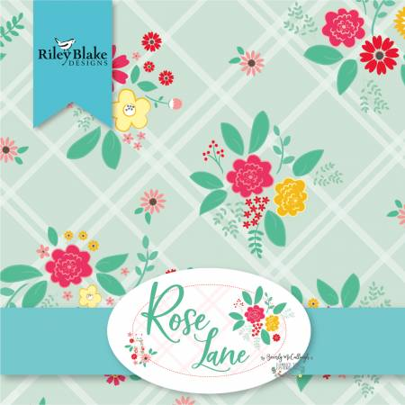 5in Squares Rose Lane 42pcs