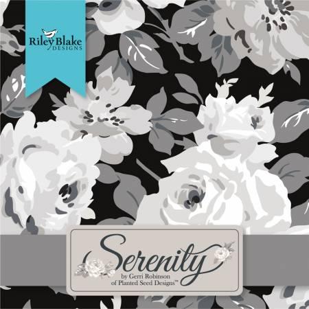 5in Squares Serenity, 42pcs, 3 bundles per pack