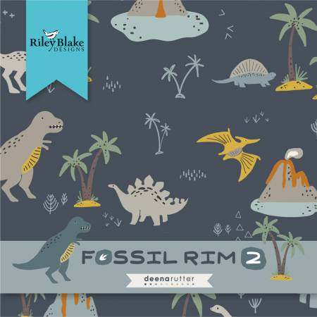 Fossil Rim 2, 5in Squares, 42pc