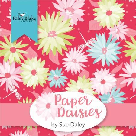 5in Squares Paper Daisies 42pcs 3 bundles per pack