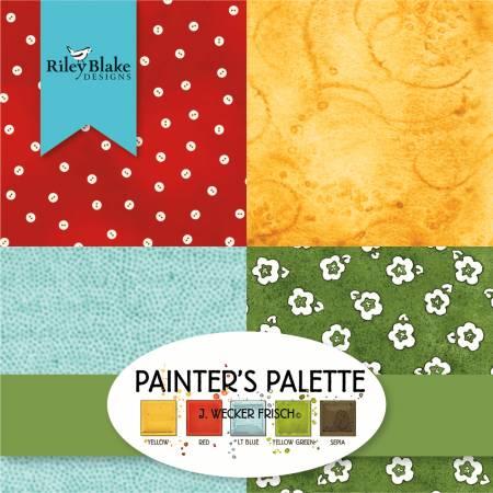 Painters Palette 5 Sqaures