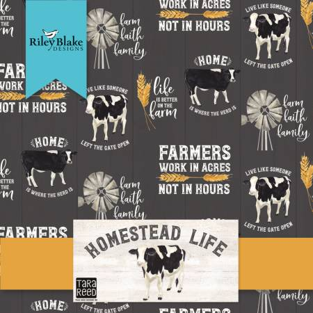 Homestead Life 5in Squares, 42pcs, 3 bundles/pack