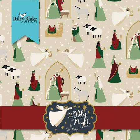 Oh Holy Night 5in Squares, 42pcs