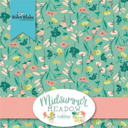 5in Squares Midsummer Meadow, 42pcs