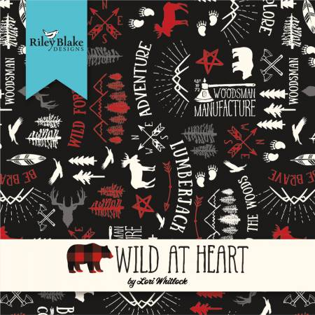 5in Squares Wild at Heart, 42pcs