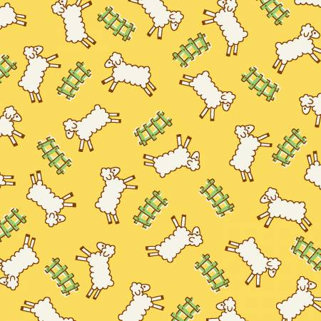 *Storybook Sleepytime Yellow Counting Sheep
