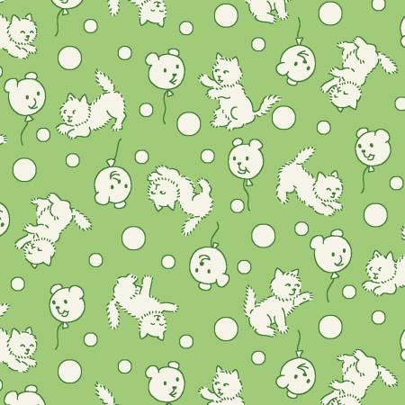 Green Teddybear Balloons