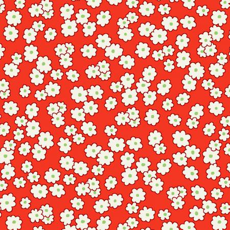 Red Mini Floral