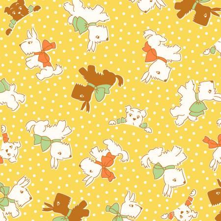 Yellow Sleepy Dogs