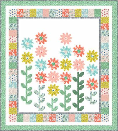 Sweet Blooms Quilt Kit By Windham Fabrics