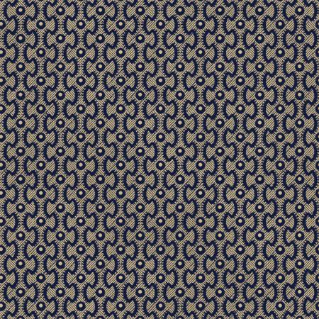 Navy Puzzle Stripe