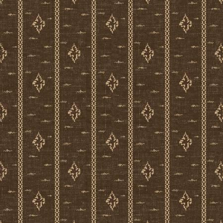 Charcoal Foulard Stripe