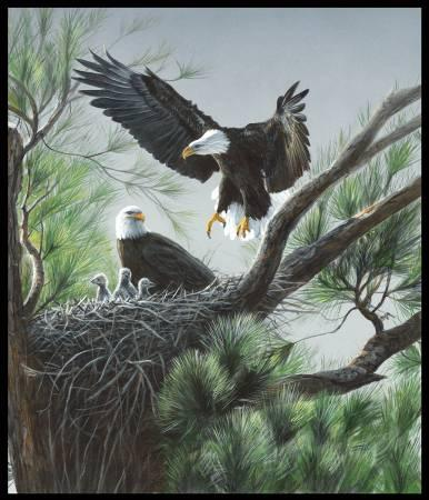 EAGLE NESTING DIGITAL PANEL