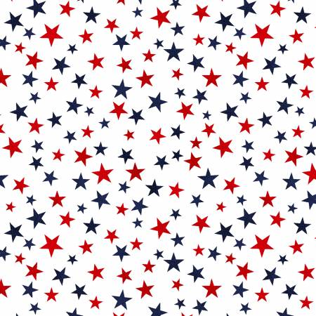 TRUCKIN' IN THE USA MINI STARS WHITE