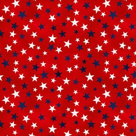 TRUCKIN' IN THE USA MINI STARS RED