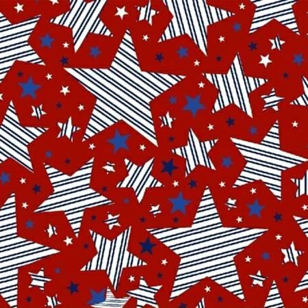 Red Striped Stars