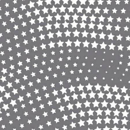 Grey Wavy Stars