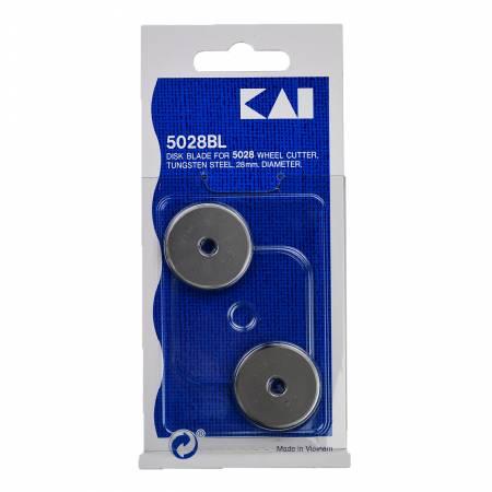KAI 28mm Rotary Blades - 2 pack