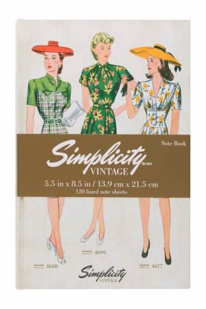 Simplicity Vintage Notebook 4677 4688 4699