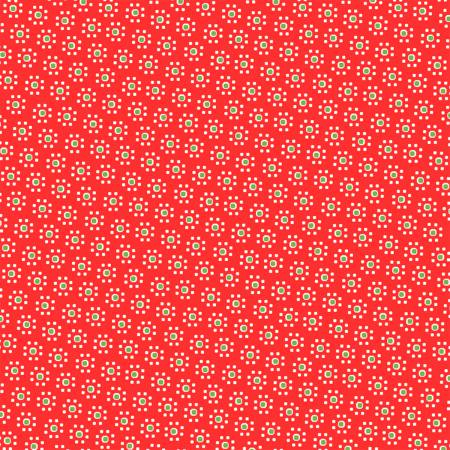 Sugar Sack Red Daisy Dot 50433-1