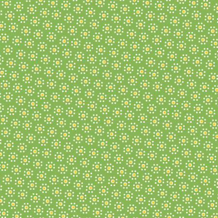 Green Daisy Dot