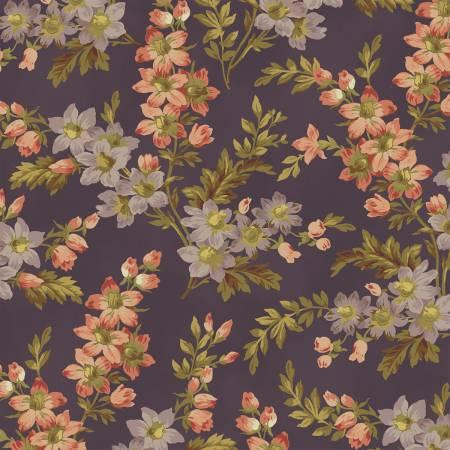 Purple Floral Sprigs
