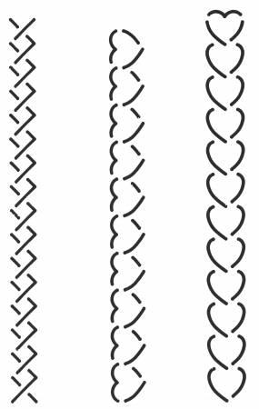 Quilt Stencil 3 Mini Borders