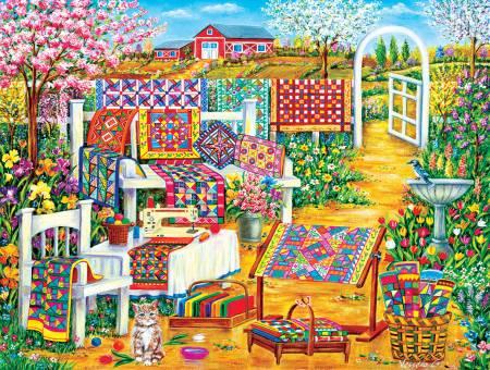 Garden Quilting 500pc Puzzle