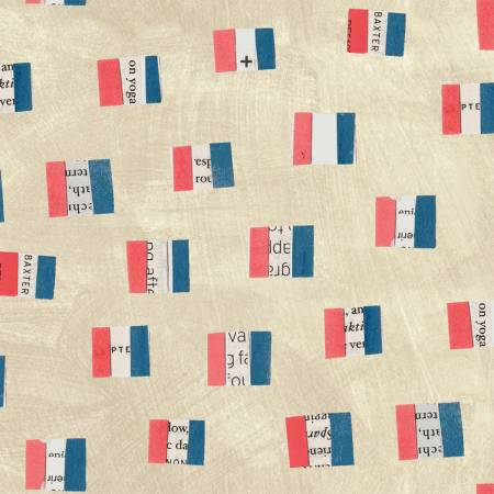 WONDER - FRENCH FLAGS - SAND - 50518 1