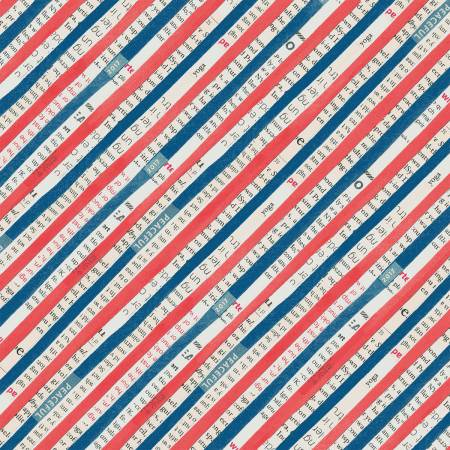 WONDER - BIAS STRIPE - NAVY - 50519 2