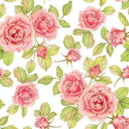 Cottage Joy Pink Roses